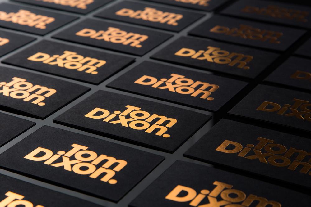 Tom Dixon brand identity - Design & Practice