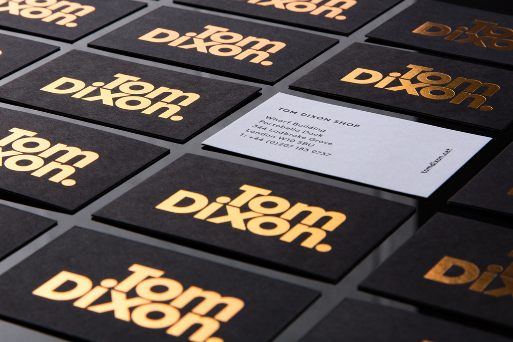 Tom Dixon | Brand Stationery </br></br>—