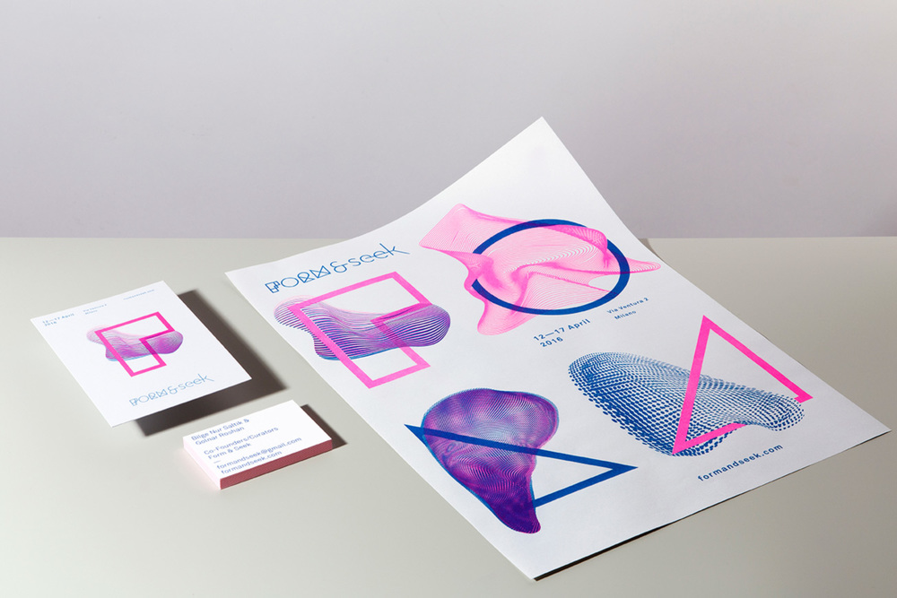 Form & Seek | Exhibition Branding