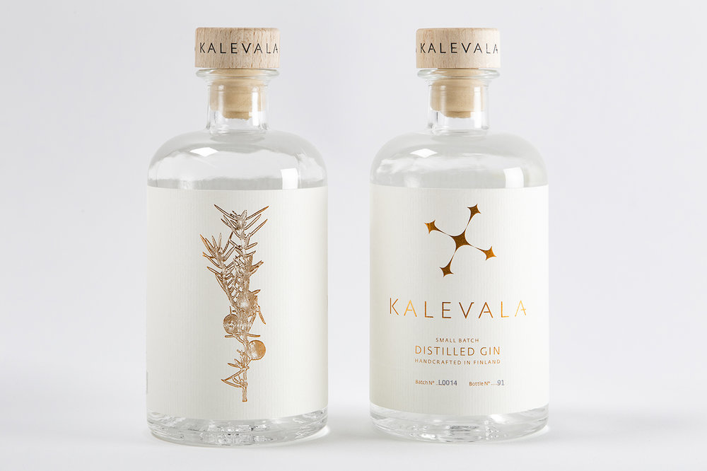 Kalevala Vodka | Brand Identity & Packaging</br></br> —