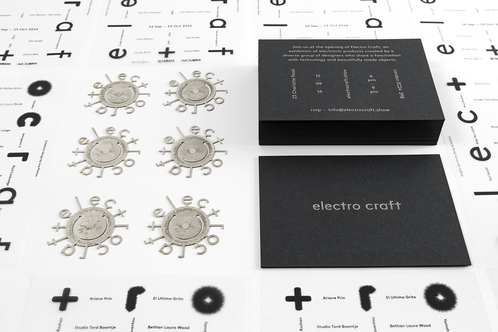 Electro Craft Exhibition | Brand & Invites </br></br>—