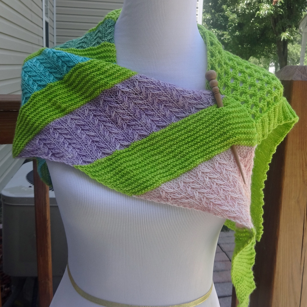 Mermaid Tail Shawl