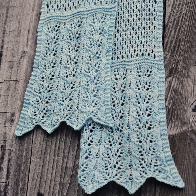 Clematis Scarf