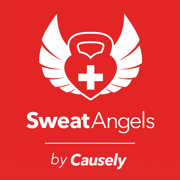 We are proud to team up with Sweat Angels. Every time anyone checks in at our location on Facebook, a donation will be made to a charity that is selected every month! The more you train and check in, the more good you do for yourself and others!