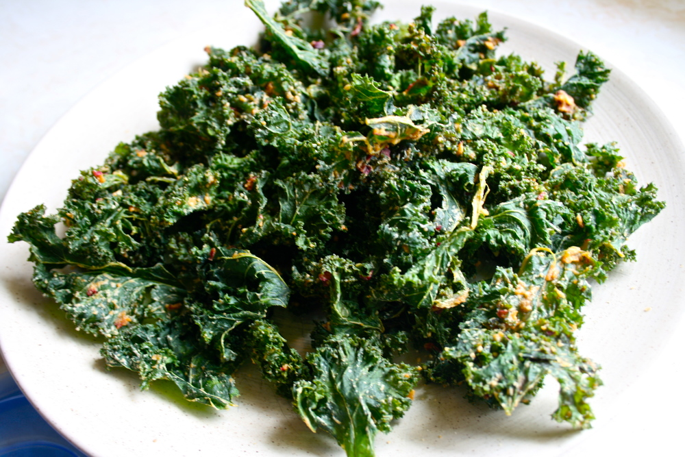 Try this: Kale chips