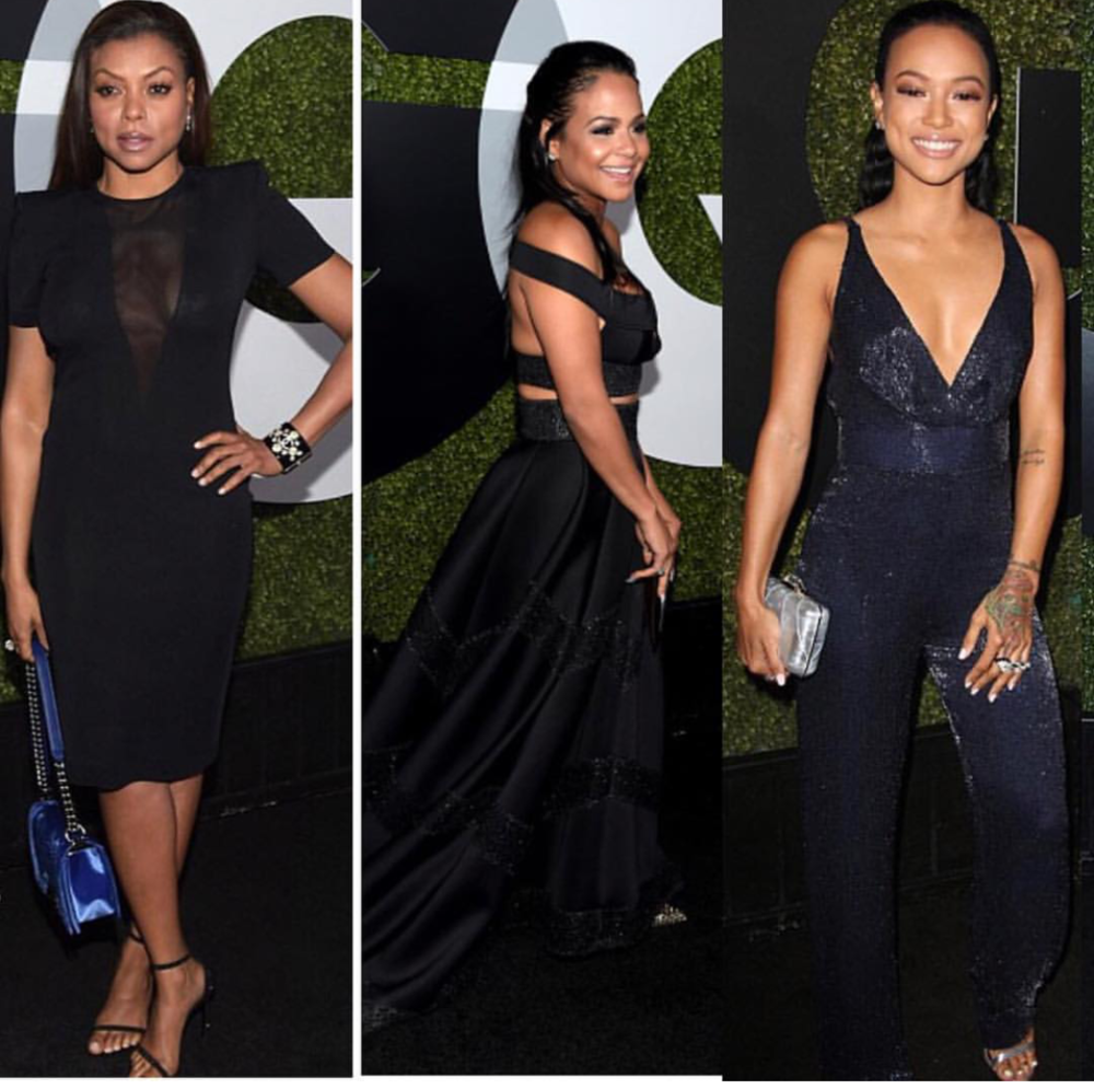 Ladies Grace GQ man of the year event
