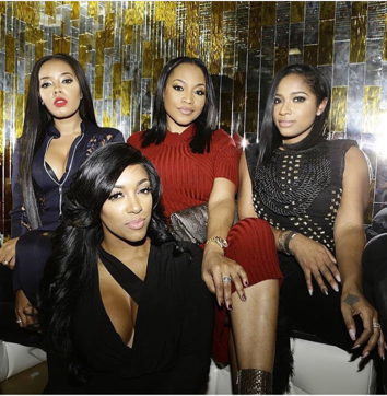Angela Simmon  Porsha Williams  Monyetta Shaw  Toya Wright