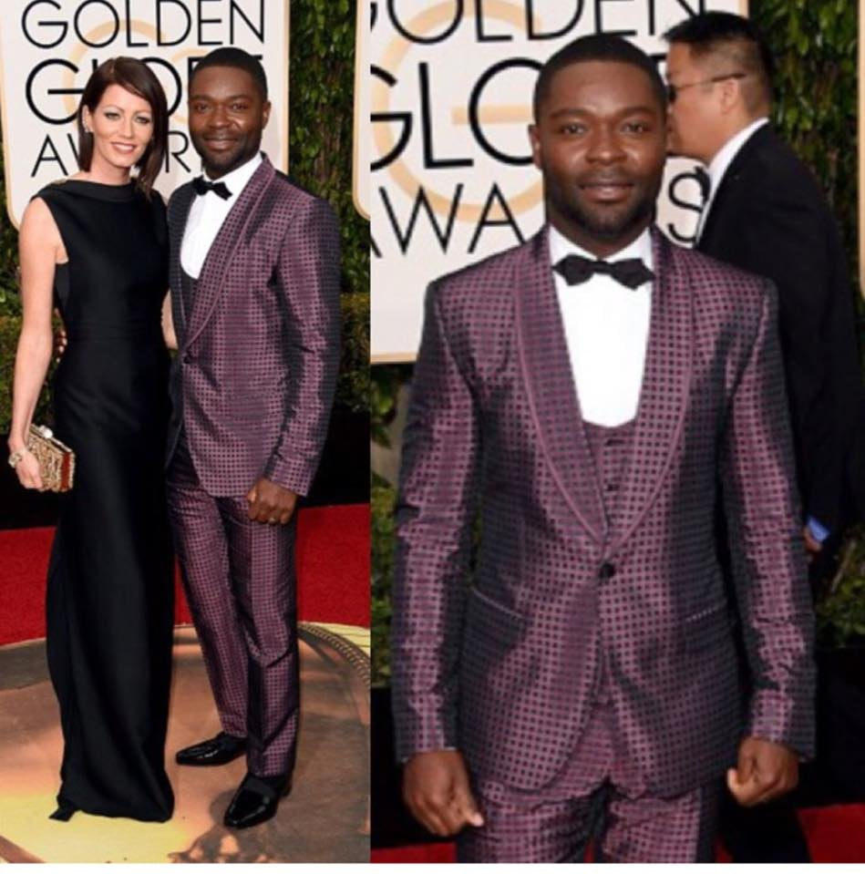 David Oyelowe and wife Jessica Oyelowo