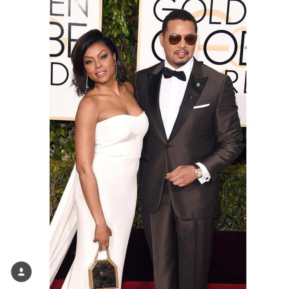 Taraji P. Henson and Terrance Howard