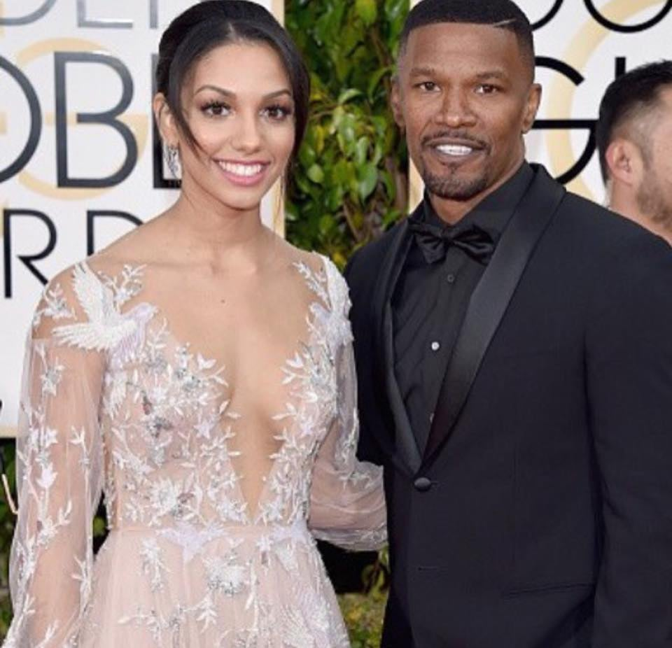 Jamie Fox and his Beautiful daughter