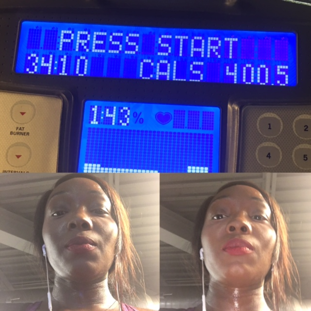 Tonight's Workout I barely made it