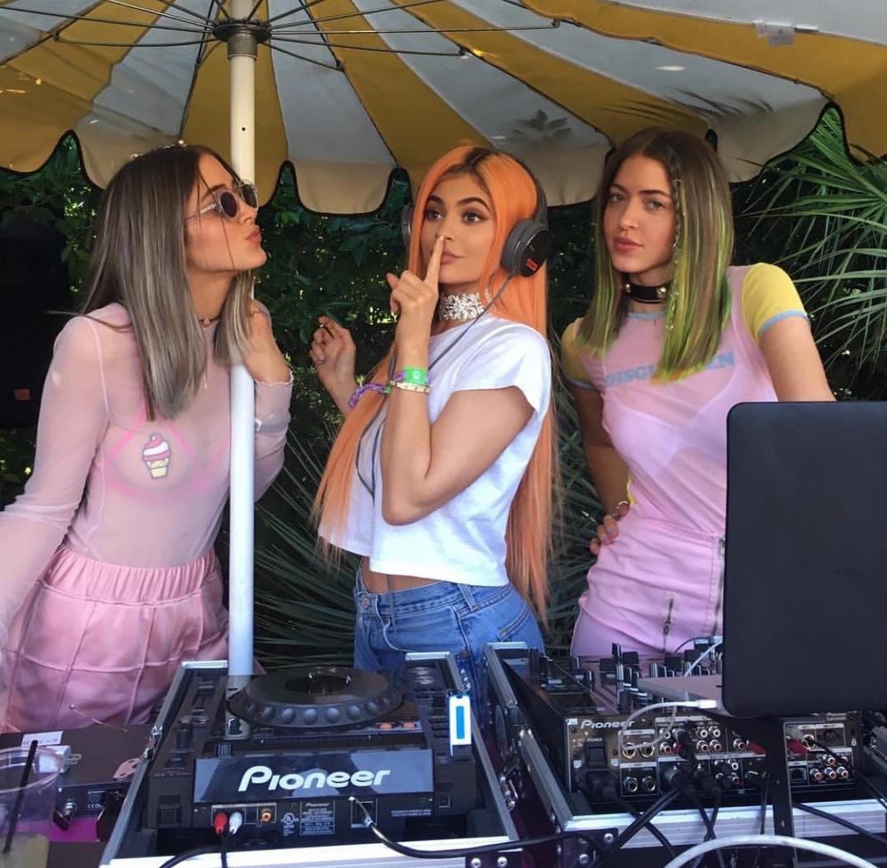 Kylie Jenner Day 1 Coachella  Style