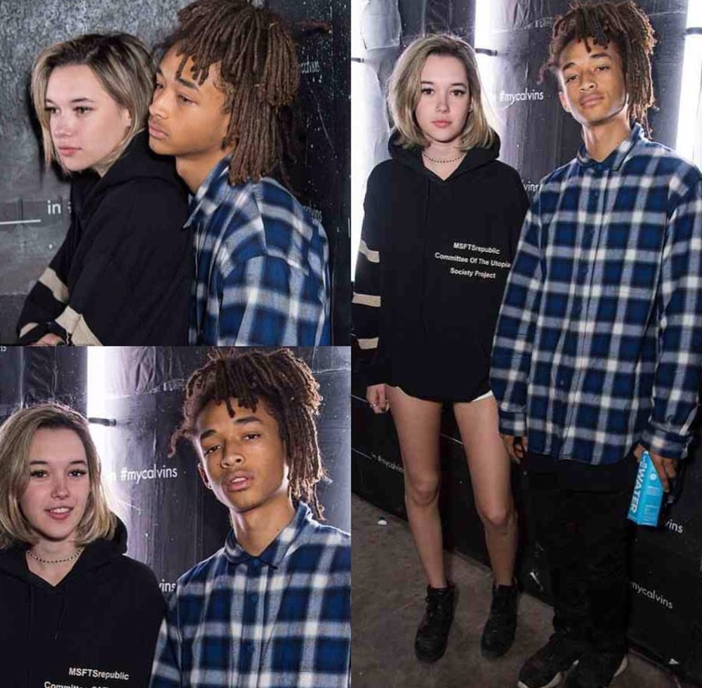 Jaden Smith and Girlfriend Sarah Snyder