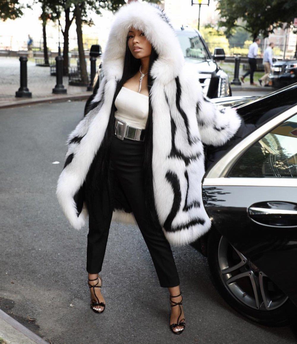 Nicki Minaj NYFW