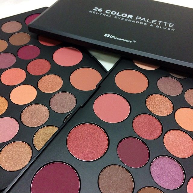 3. BH Cosmetics  - I own more than a few of BH Cosmetics eyeshadow palettes. You can shop any palette that you feel is just right for you. BH Cosmetics palettes are great and not that expensive. You can purchase a beautiful palette at a starting price as low $12.00