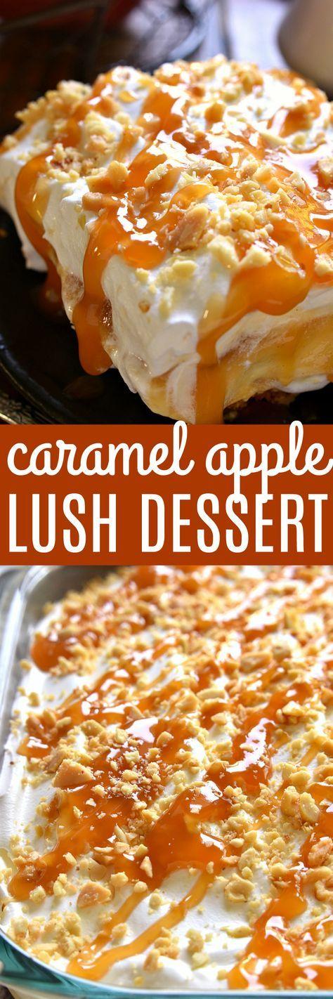 2. Dessert Tonight/Caramel Apple Lush Dessert - https://www.pinterest.com/pin/561753753512444071/