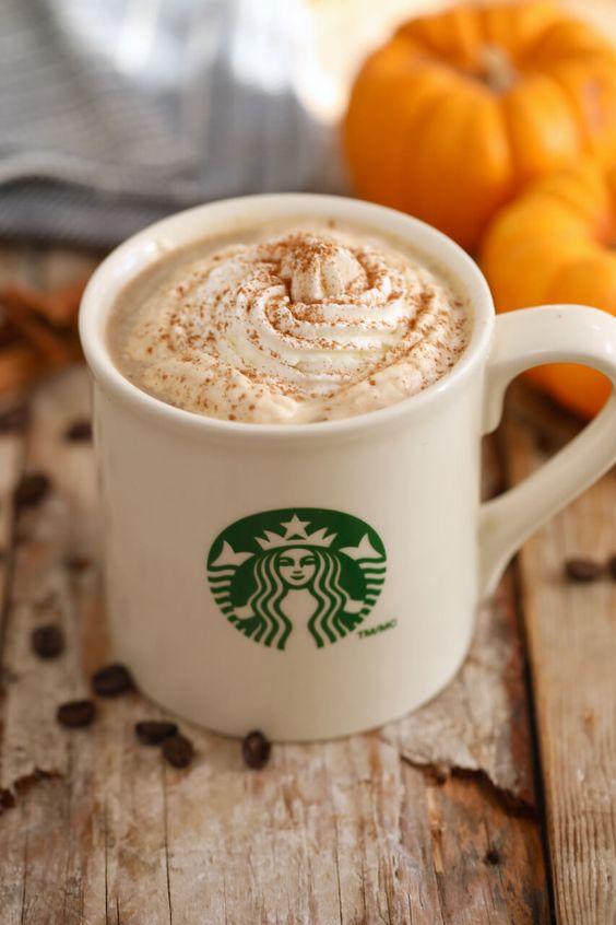 7.Homemade Starbucks Drinks (Pumpkin Spice Latte, Salted Caramel Hot Chocolate & Peppermint Mocha) - https://www.pinterest.com/pin/395542779757201660/