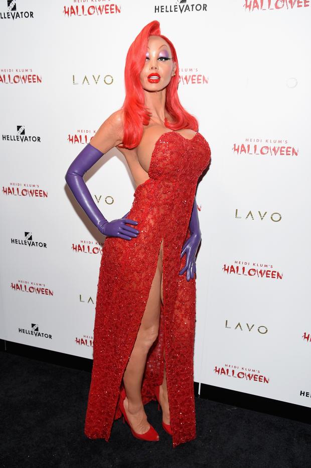 Heidi Klun - Heidi Klun dresses as Jessica RabbitPic Source:dailymail.com