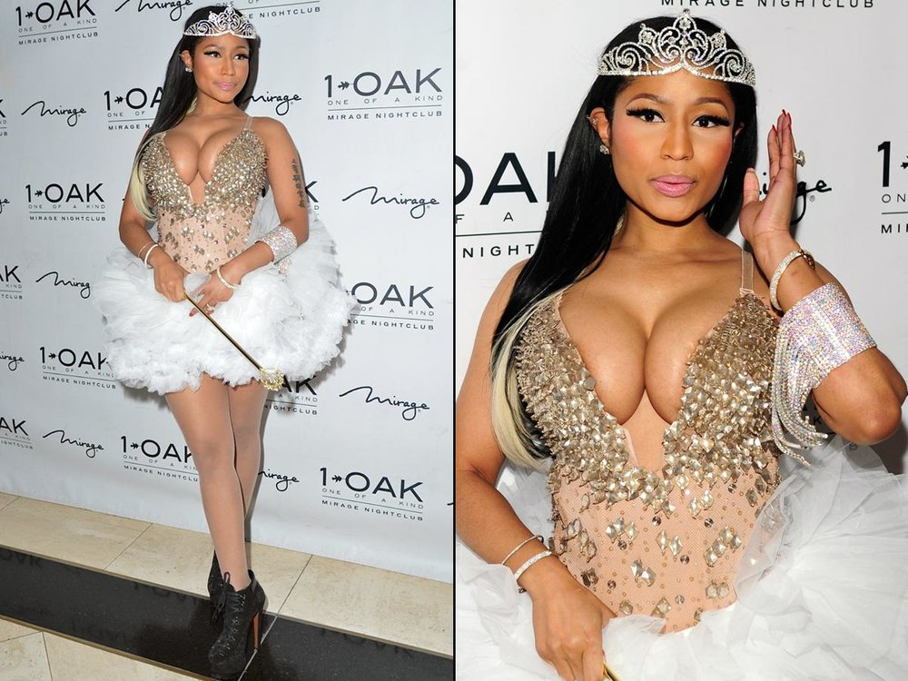 Nicki Minaj - Nicki Dresses as a Fairy Pic Source:mydailynews.com