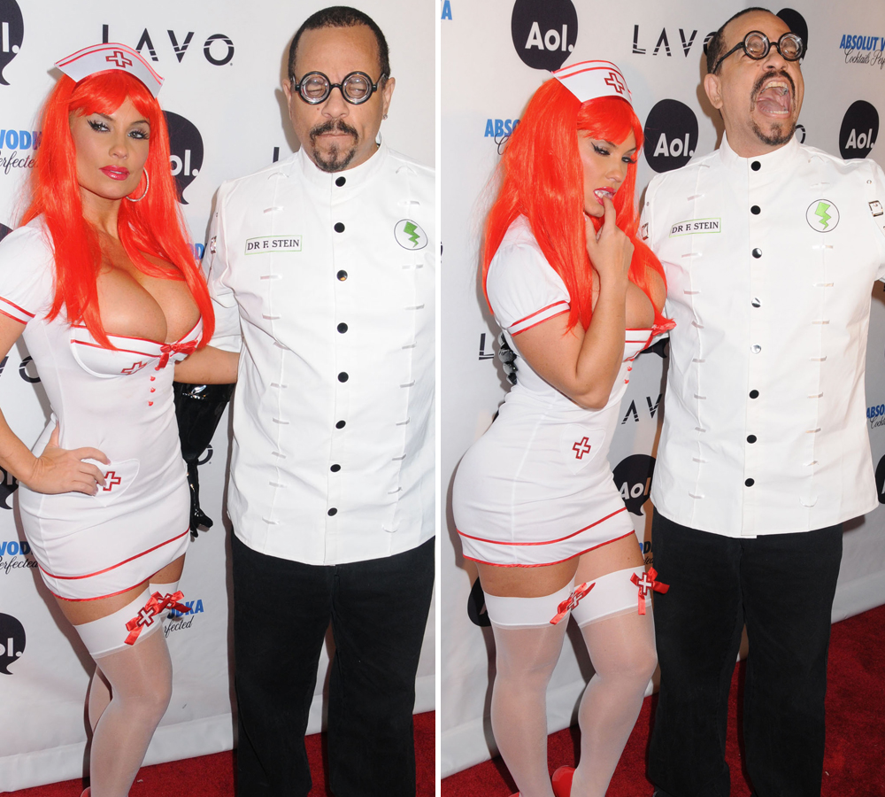 Coco & Ice-T - Bring their sexy out Dressed as a Nurse and Dooctor Pic Source: Life&Style