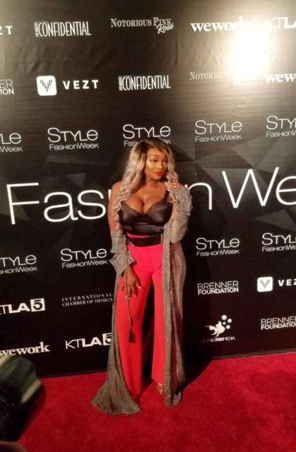 In Style - L. A Fashion Week in style Red carpet