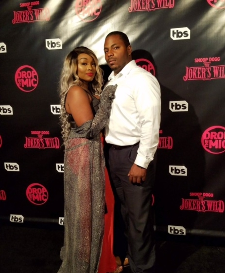 - That's bae (My lovely husband) joining me on the second Red carpet #TBS red carpet