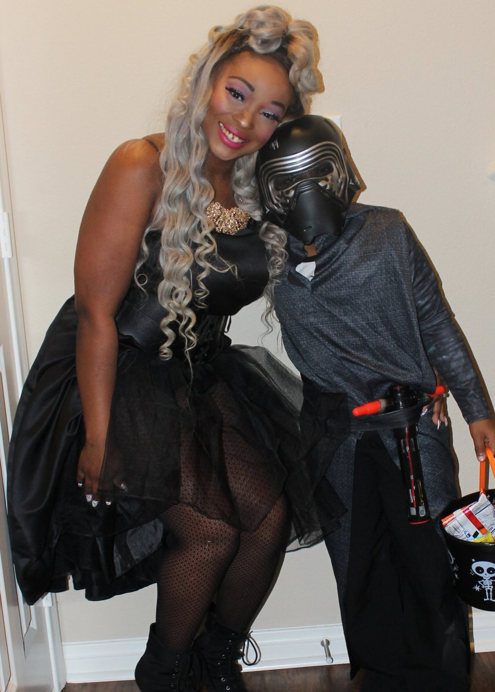 - Check out my DIY Inspired Halloween Costume right in th Fashion tab above.