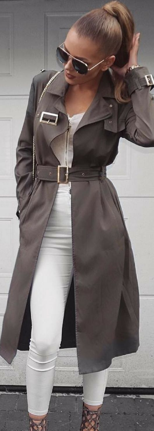 Trench It  - A Stylish Trench Coat/ Jacket can make take a simple style to the next level. Giving the chic sophisticated side of you. Be Chic, Be Beautiful with style. Must try this Fall