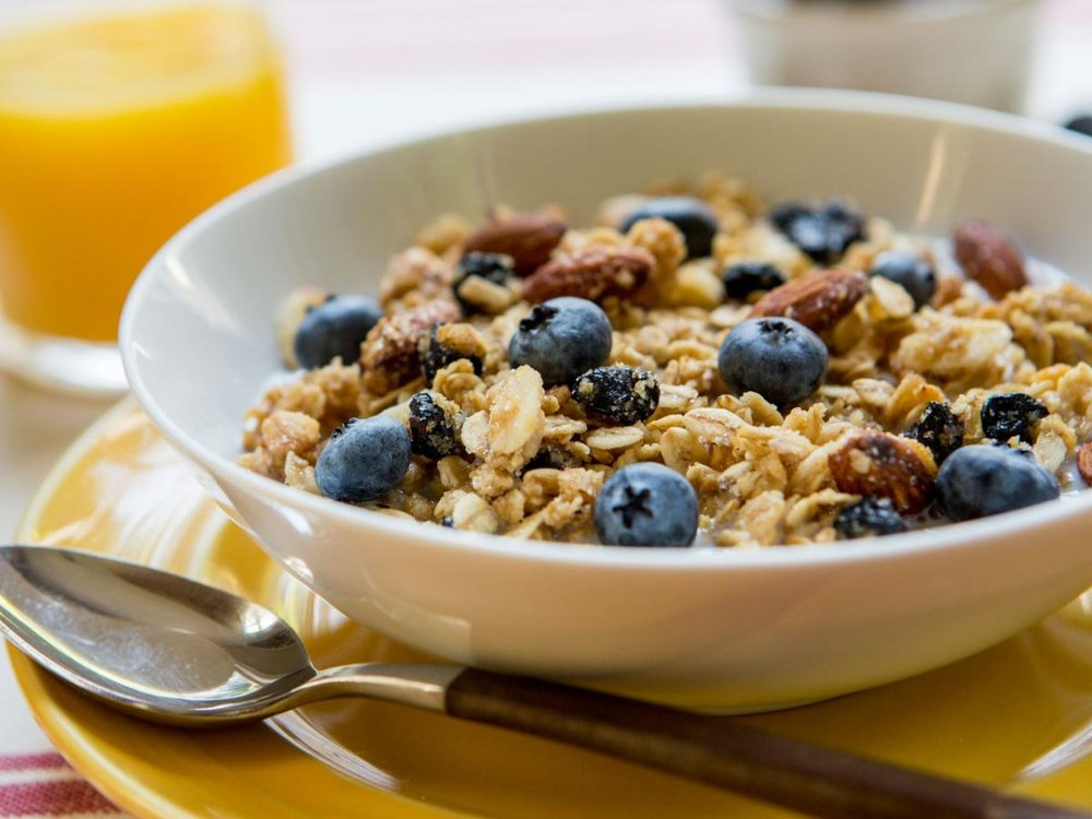 Oatmeal - Real Oats add your favorite granola, berries and enjoy.