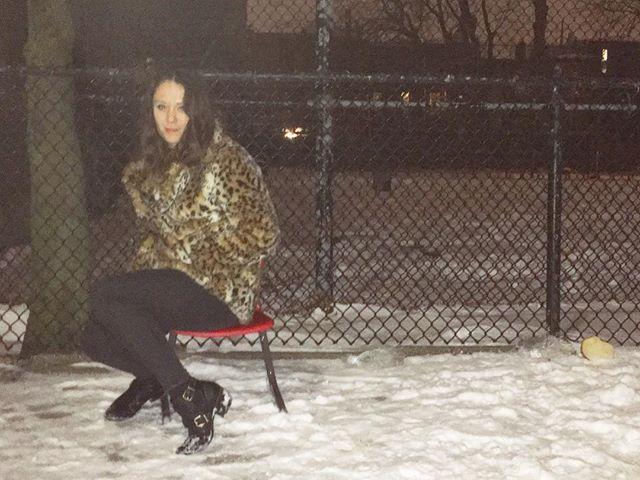 Snow days BK ... #brooklyn #newyork