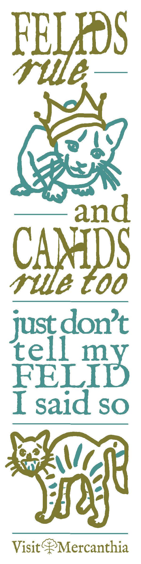 Felids rule...