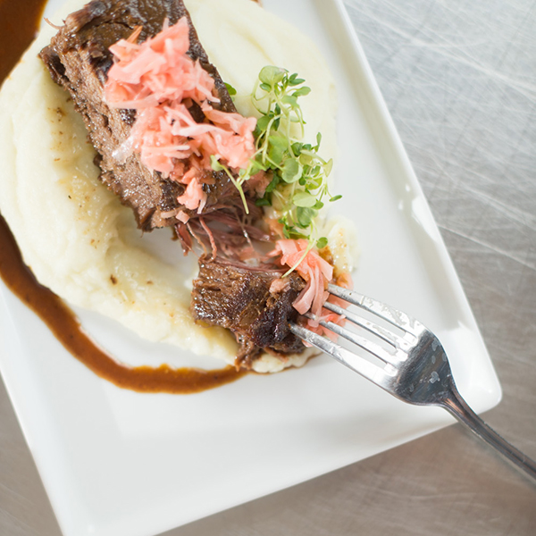 Miso Braised Short Ribs Wedding Catering