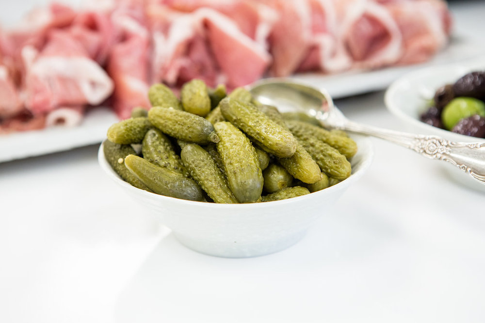 Catering Stationary Platter Pickles
