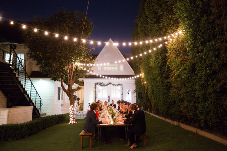 Vintage Boho Wedding  - The Lombardi House is a Los Angeles hot spot for wedding ceremonies and other social events.