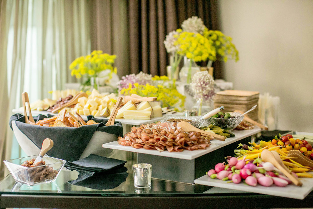 In Home Catering Brings The Party To You - Throwing a launch party with a splash is easy when you're @tlgBook Consulting.