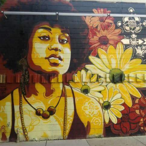 (Mural on the outside of IntermediaArts, the gallery where TLC used to have co-working space)