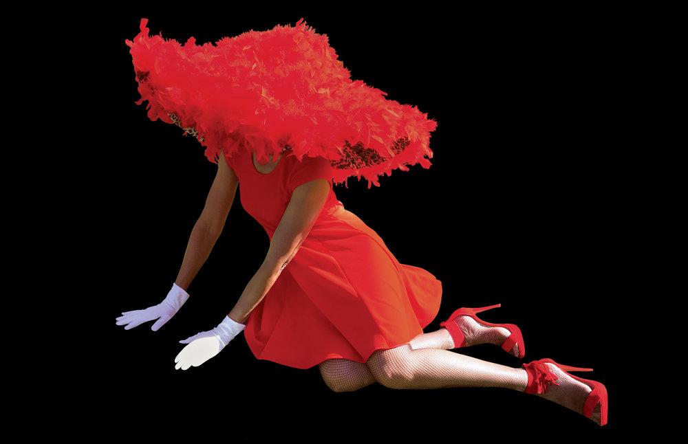 Red, Powerfully Glamorous