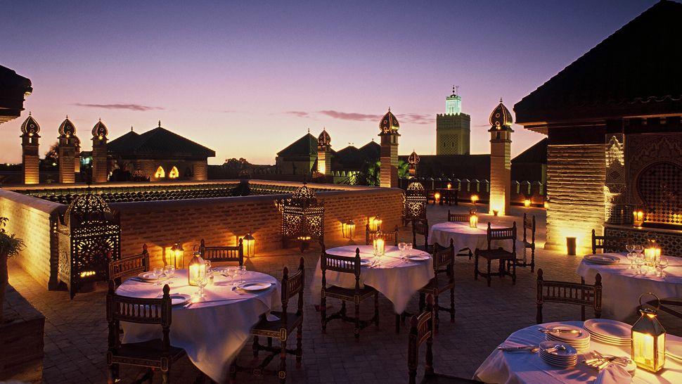La Sultana Rooftop Restaurant Marrakech