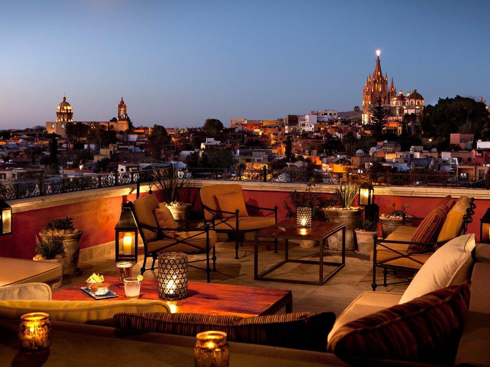 Luna Rooftop Tapas Bar-Restaurant San-Miguel De-allende Mexico