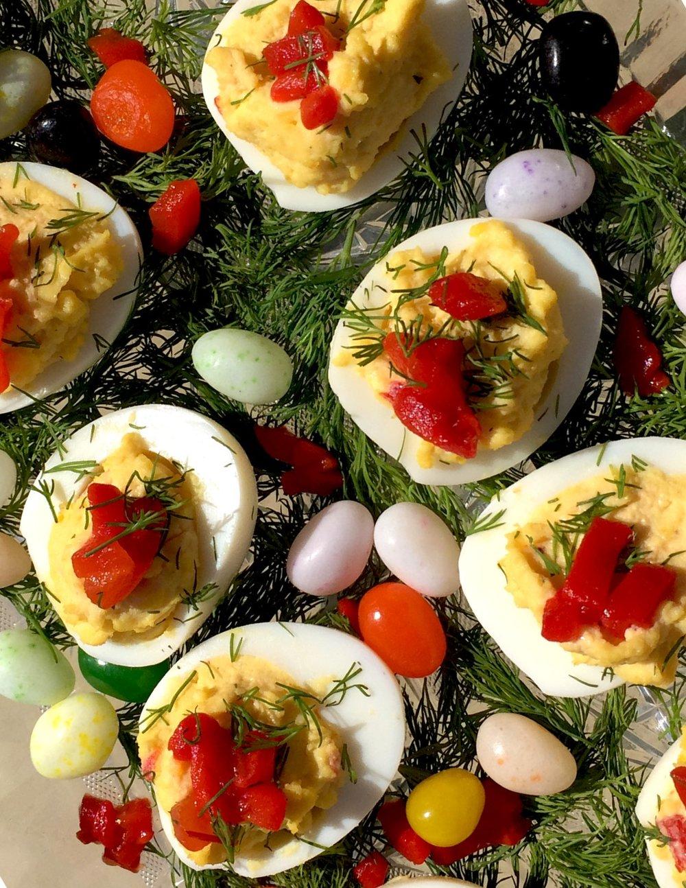 Pimento Deviled Eggs