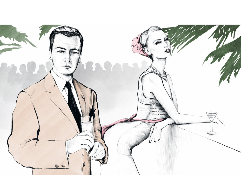 Fashion Illustrator    Zack Huffman   USA