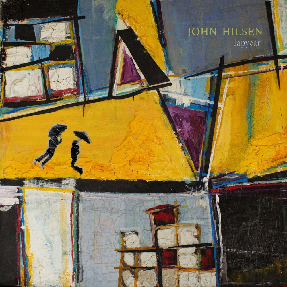 John Hilsen - Lapyear Album art. By Jayne Cole.