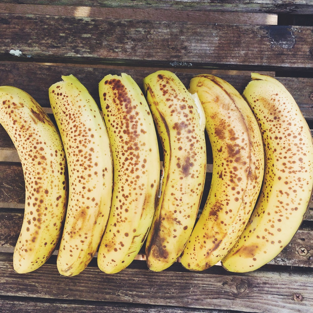 Your bananas are not ripe until they look like this xx