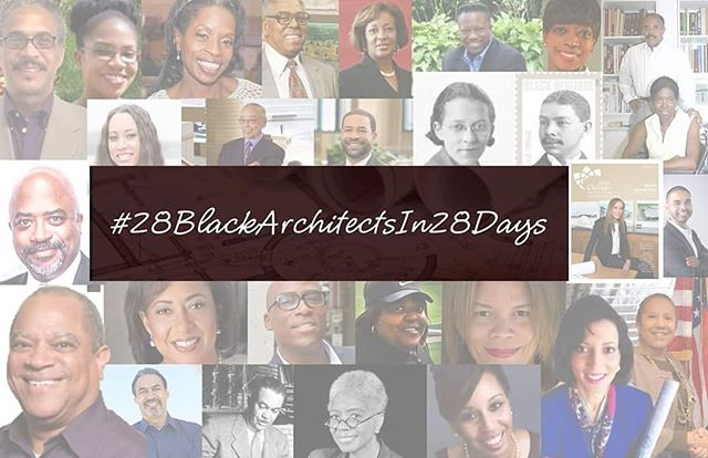HAPPY BLACK HISTORY MONTH!!! #28BlackArchitectsIn28Days is BACK and this is our Celebratory 5th Series!!! Stay tuned for information on Black Architects, past and present, as well as announcements!! #BlackArchitects #BlackHistory #Architecture