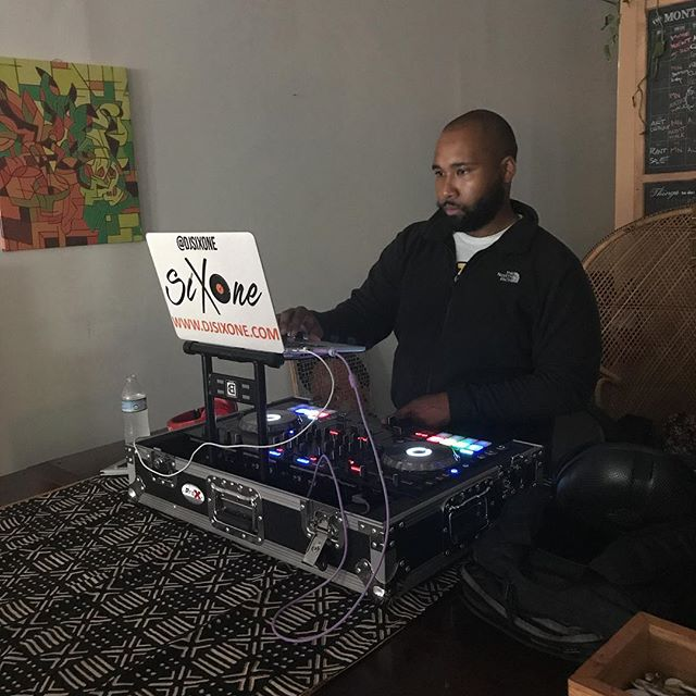 #djappreciation @djsixone at the FlowerHouse. 766 Penn Avenue, Pittsburgh, PA, 15221