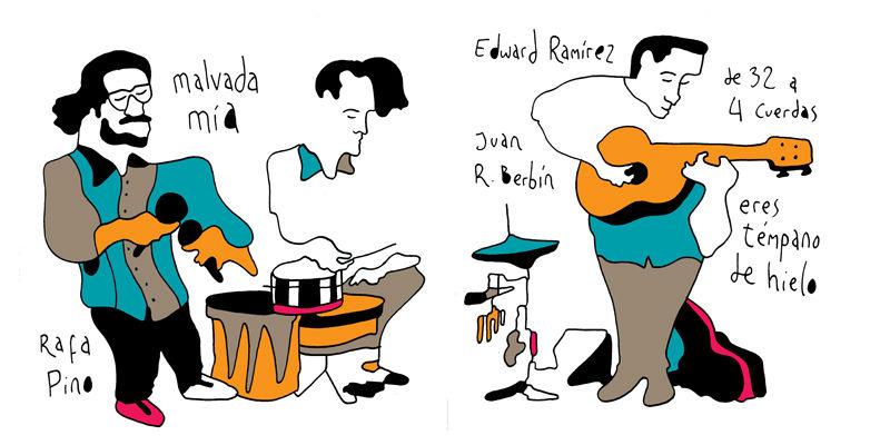 Ilustraciones de Pedro Strukelj