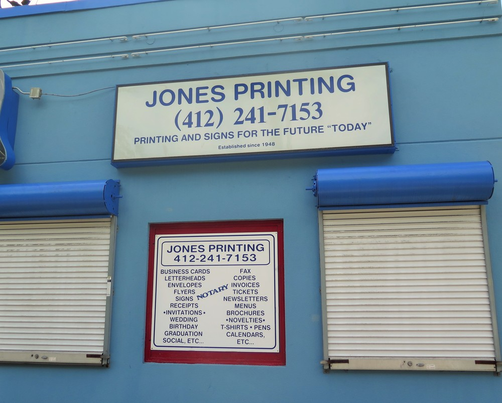 JONES PRINTING