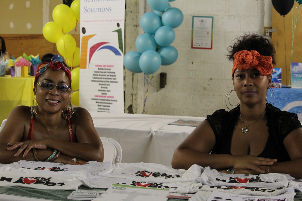 Entrepreneurs who attended also had booths to give more information about their business and showcase their products.