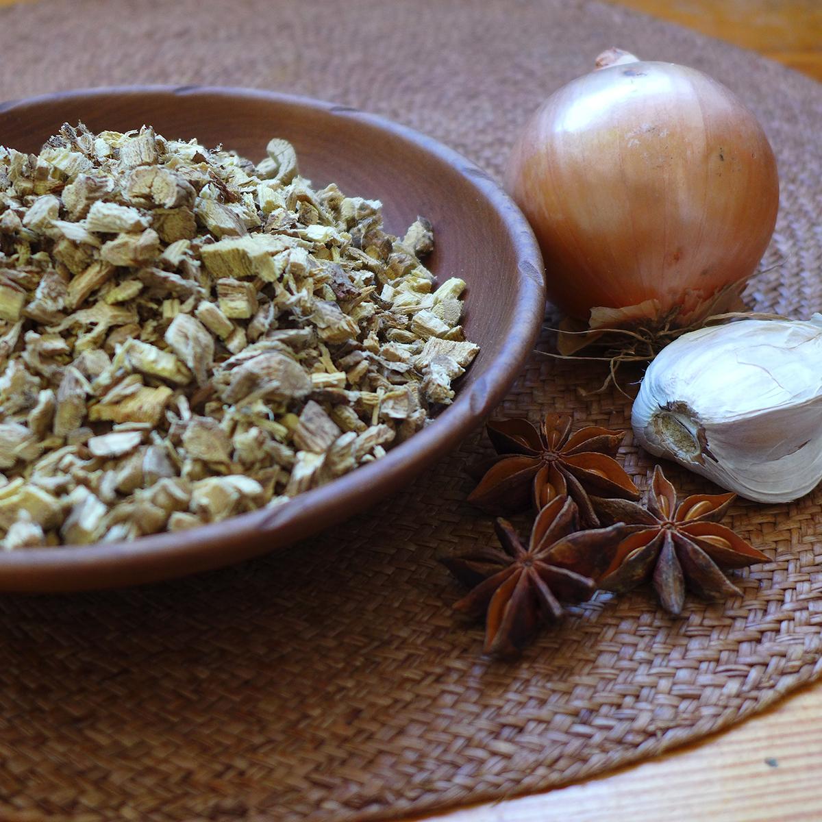 Onion-Astralagus-AnisEtoilé-Ail