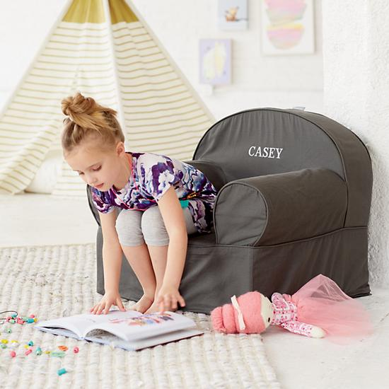 land of nod grey chair